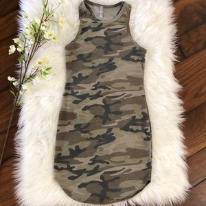 Dresses & Skirts - Camo Bodycon Dress